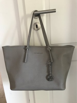 Michael Kors Jet Set Shopper, hellgrau