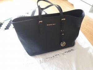 Michael Kors Jet Set Shopper Schwarz