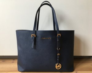 Michael Kors Jet Set Tasche Navy