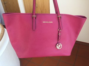 Michael Kors Jet Set Tasche Pink