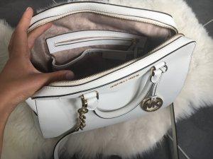Michael Kors jet set Tasche weiß