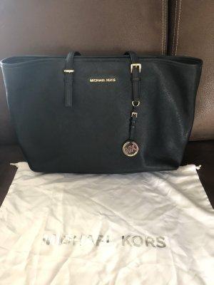 Michael Kors Comprador negro-color oro