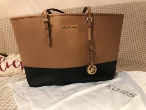 Michael Kors Carry Bag black-bronze-colored synthetic material