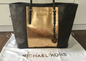 MICHAEL KORS Jet Set Travel Center Stripe