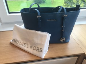 Michael Kors -Jet Set Travel medium - in Steelblue