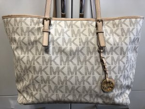 Michael Kors Jet Set Travel Multifunction Tote Vanilla