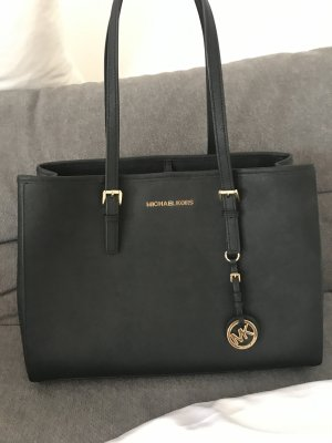 Michael Kors Tote black-gold-colored leather