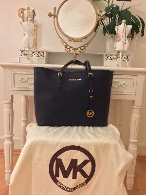 Michael Kors Jet Set Travel / Shopper / Tasche navy / blau