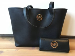 Michael Kors Jet Set Travel Tasche + Geldbörse