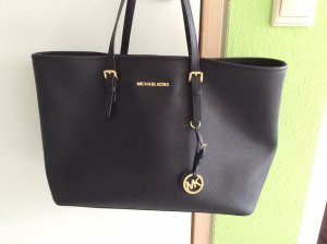 Michael Kors Jet Set Travel Tote Black