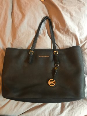 Michael Kors Jet Set Travel Tote in schwarz