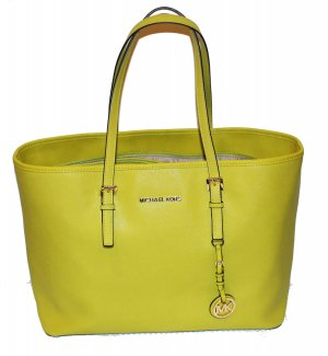 Michael Kors Tote meadow green-neon green leather