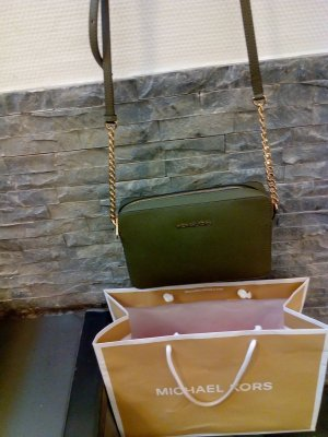 MICHAEL KORS JET SET TRAVELLG/EW CROSSBODY KHAKI
