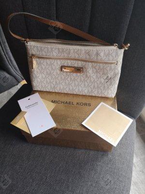 Michael Kors Bolso tipo pochette blanco puro-crema