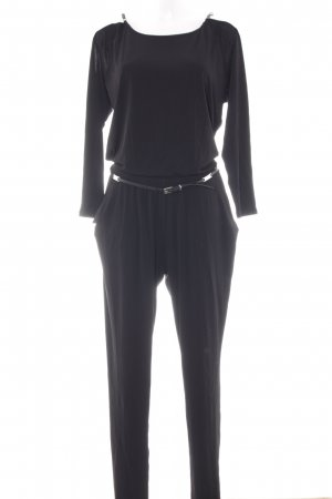 Michael Kors Jumpsuit schwarz Business-Look