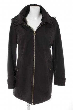 Michael Kors Hooded Coat black casual look