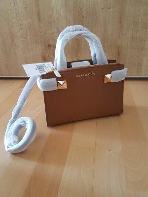 Michael Kors Karla luggage Tasche Handtasche braun Neu