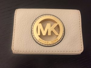 Michael Kors Card Case white leather