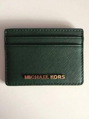 Michael Kors Kartenetui in mossgrün