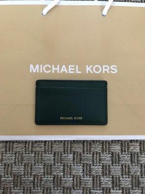 Michael Kors Kaartetui donkergroen-goud
