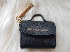 Michael Kors Key Chain black-gold-colored