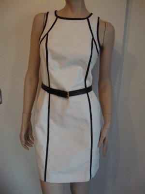 Michael Kors Kleid 100% Original wollweiß/dunkelblau Gr. 34 Gr.0 1x getragen WIE NEU