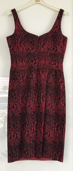Michael Kors Robe de cocktail noir-rouge