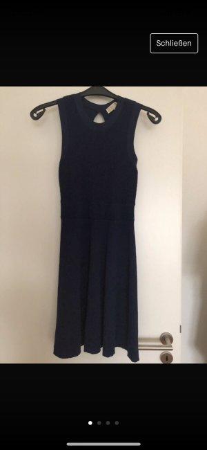 Michael Kors Peplum jurk donkerblauw