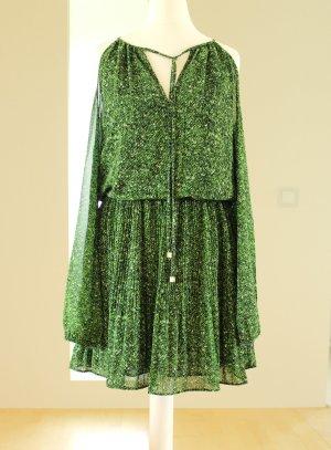 Michael Kors Kleid aus Georgette Cut-Outs Gr. XS neu grün