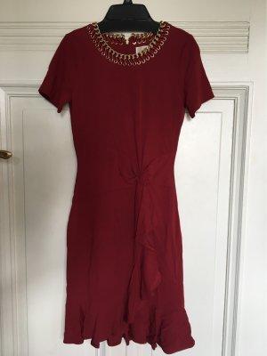 Michael Kors Kleid Bordeaux weinrot XS