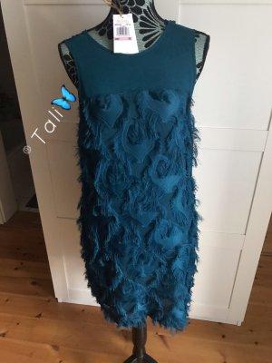 Michael Kors Kleid Chiffon   Blau Luxe Teal  M 38 10
