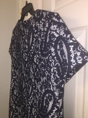 Michael Kors Lace Dress black-white mixture fibre