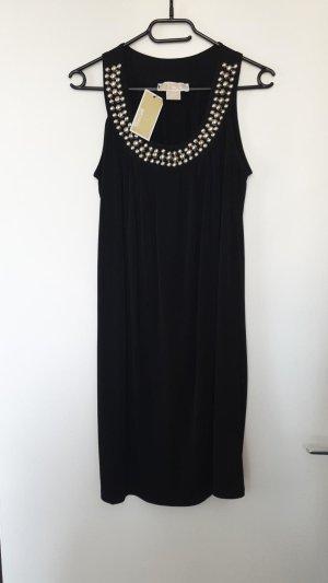 Michael Kors Babydoll-jurk zwart-zilver
