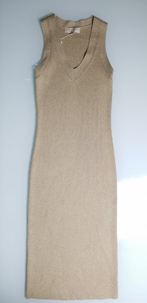 Michael Kors Kleid Gold Bodycon Bandage