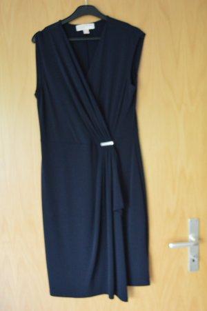 Michael Kors Kleid in Wickelkleid dunkelblau Gr. M neu