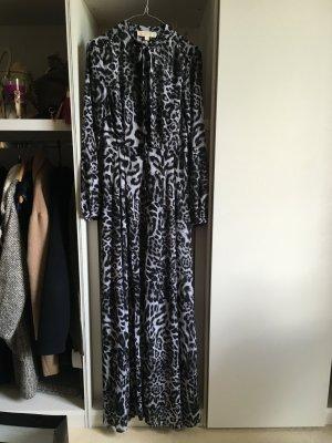 Michael Kors Kleid mit schwarz/weiß Leopard Muster