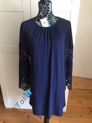 Michael Kors Kleid  Navy Blau Spitze Lace  M 38 8