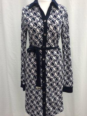 Michael Kors Dress white-dark blue polyester