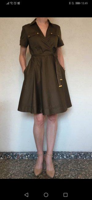 Michael Kors Kleid olivgrün