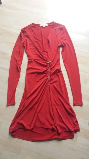Michael Kors Dress red mixture fibre