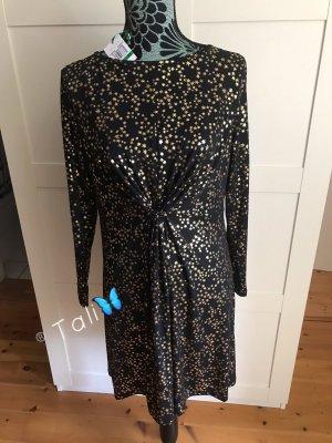 Michael Kors Kleid  Schwarz Gold  L 40 10