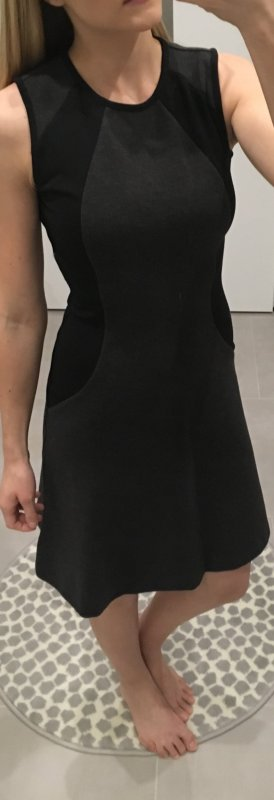 Michael kors Kleid schwarz grau neu 34 xs s 36