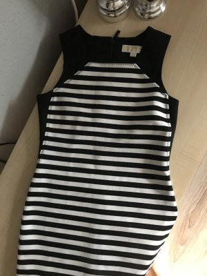 Michael Kors Kleid, schwarz/weiß Gr. 0, Gr. S