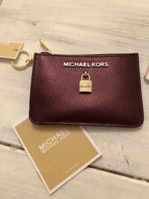 Michael Kors kleine Leder Geldbörse mit Schlüsselanhänger neu mit Etikett 95€