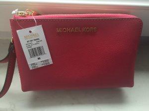 Michael Kors Bolso tipo pochette magenta