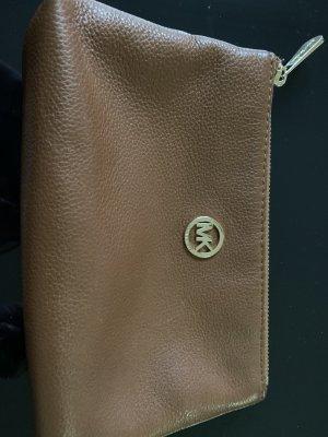 Michael Kors Pochette cognac-coloured leather