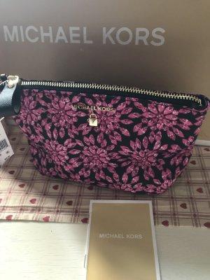 Michael Kors Minitasje zwart-roze