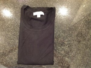 Michael Kors Short Sleeve Sweater black cotton