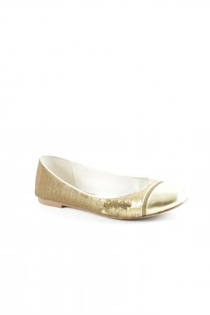 "Michael Kors Patent Leather Ballerinas ""CYNTHIA BALLET"" gold-colored"