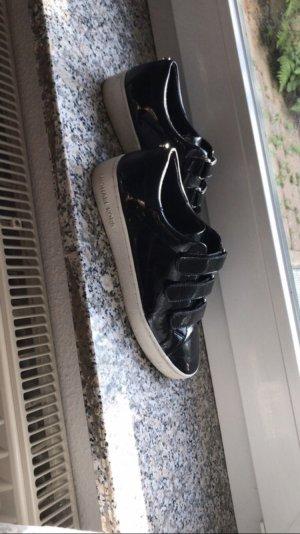 Michael Kors Sneakers black-white leather